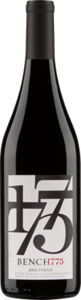Bench 1775 Syrah 2013 Bottle