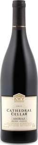 K W V Cathedral Cellar Shiraz 2012 Bottle