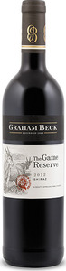Graham Beck The Game Reserve Shiraz 2012, Wo Stellenbosch Bottle