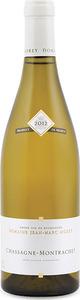 Domaine Jean Marc Morey Chassagne Montrachet 2012, Ac Bottle