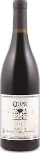 Qupé Sawyer Lindquist Vineyard Syrah 2010, Edna Valley Bottle