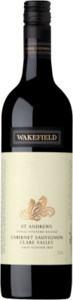 Wakefield St Andrews Single Vineyard Cabernet Sauvignon 2010, Clare Valley Bottle