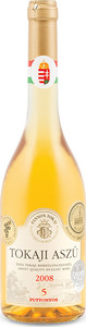 Pannon Tokaj 5 Puttonyos Tokaji Aszú 2008 (500ml) Bottle