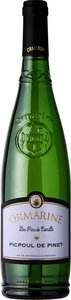 Ormarine Picpoul De Pinet Les Pins De Camille 2014, Ac Coteaux Du Languedoc Bottle