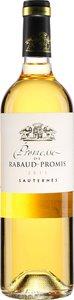 Château Rabaud Promis Promesse De Rabaud Promis 2011 Bottle