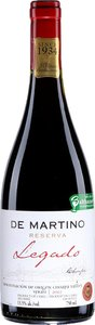 De Martino Legado Reserva Syrah 2012, Choapa Valley Bottle