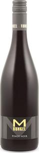 M Runkel Pinot Noir 2012, Quälitatswein Rheinhessen Bottle