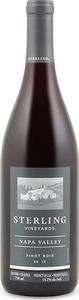 Sterling Napa Valley Pinot Noir 2012 Bottle