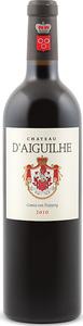 Château D'aiguilhe 2004, Ac Côtes De Bordeaux   Castillon Bottle