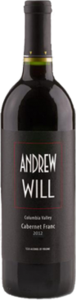 Andrew Will Columbia Valley Cabernet Franc 2012 Bottle