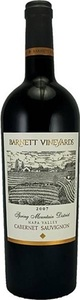 Barnett Spring Mountain Cabernet Sauvignon 2012, Napa Valley Bottle