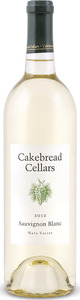 Cakebread Cellars Sauvignon Blanc 2013, Napa Valley Bottle