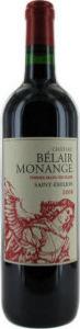 Chateau Belair Monange 2011, St. Emilion Bottle