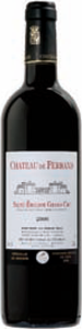 Chateau De Ferrand 2007 Bottle