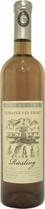 Domaine Les Brome Riesling Réserve 2010, Cantons De L'est Bottle