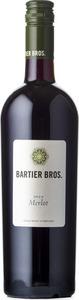 Bartier Bros. Merlot Cerqueira Vineyard 2011 Bottle