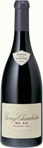 Domaine De La Vougeraie Gevrey Chambertin Premier Cru Bel Air 2008 Bottle