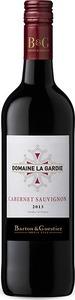 Domaine La Gardie Cabernet Sauvignon 2013, Vin De Pays D' Oc Bottle