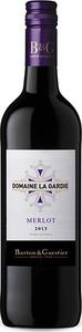 Domaine La Gardie Merlot 2013, Vin De Pays D' Oc Bottle