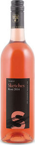 Tawse Sketches Of Niagara Rosé 2014, VQA Niagara Peninsula Bottle