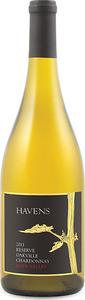 Havens Reserve Oakville Chardonnay 2013, Oakville, Napa Valley Bottle
