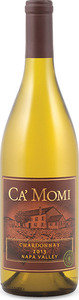 Ca' Momi Chardonnay 2013, Napa Valley Bottle