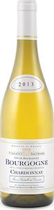 Domaine Vincent Sauvestre Bourgogne Chardonnay 2013, Ac Bottle