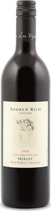 Andrew Rich Red Willow Vineyard Merlot 2010, Columbia Valley Bottle