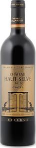 Château Haut Selve Réserve 2010, Ac Graves Bottle
