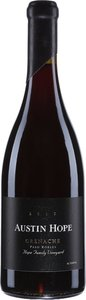 Austin Hope Grenache 2012, Paso Robles Bottle