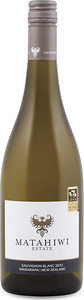 Matahiwi Estate Sauvignon Blanc 2013, Wairarapa, North Island Bottle