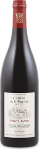Château De La Terrière Pinot Noir 2012, Ap Coteaux Bourguignons Bottle