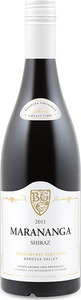 Tscharke Marananga Gnadenfrei Shiraz 2010, Barossa Valley, South Australia Bottle