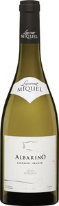 Laurent Miquel Albarino 2014 Bottle