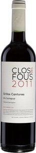 Clos Des Fous Grillos Cantores Alto Cachapoal Cabernet Sauvignon 2011 Bottle