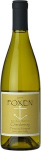 Foxen Tinaquaic Vineyard Estate Chardonnay 2013, Santa Maria Valley Bottle