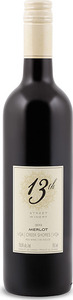 13th Street Merlot 2013, VQA Creek Shores, Niagara Peninsula Bottle