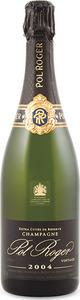 Pol Roger Vintage Extra Cuvee De Reserve Brut Champagne 2004, Ac Bottle