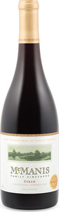 Mcmanis Family Vineyards Syrah 2012, California Bottle
