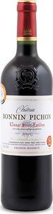 Château Bonnin Pichon 2010, Ac Lussac St émilion Bottle