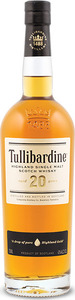 Tullibardine 20 Year Old Highland Single Malt Bottle
