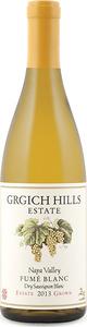 Grgich Hills Fumé Blanc Dry Sauvignon Blanc 2013, Napa Valley Bottle