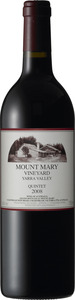 Mount Mary Quintet 2010, Yarra Valley Bottle