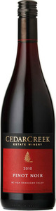 CedarCreek Pinot Noir 2008, VQA Okanagan Valley Bottle