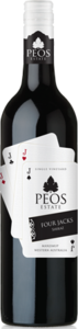 Peos Four Jacks Shiraz 2013 Bottle