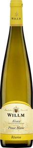 Willm Réserve Pinot Blanc 2012, Alsace Bottle