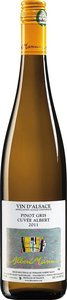 Domaine Albert Mann Pinot Gris Cuvée Albert 2012, Alsace Bottle