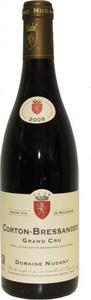 Domaine Nudant Corton Bressandes Grand Cru 2009 Bottle