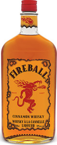 Fireball Cinnamon Whisky Liqueur Bottle