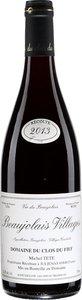 Domaine Du Clos Du Fief Beaujolais Villages 2013 Bottle